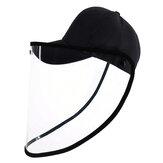 PULUZ PU463 Chapeau De Protection Visage Bouclier Masque De Protection Coupe-Vent Antipoussière Antimousse Détachable