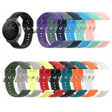 Bakeey 22mm Multi-color Silicone Siver Buckle Replacement Strap Smart Watch Band For Huawei Watch GT2 PRO
