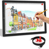 A3/A4 Touch Dimmable USB LED Light Drawing Copy Pad Tablet With Magnet Ultra-Thin Portable Diamond Painting Board Kit for Students Artists