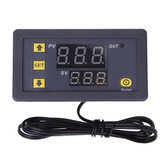 W3230 AC 110V-220V DC 12V Digital Thermostat Thermometer Regulator Heating Cooling Control Instruments LED Display