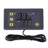 W3230 AC 110V-220V DC 12V Termostato digital Termómetro Regulador de calefacción, control de refrigeración, instrumentos LED Pantalla