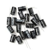 20pcs 1000uF 25V Radial Electrolytic Capacitor 10 x 17mm 105°C