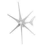 1000 Вт 6 Лопасти Ветрогенератор Набор 12 В / 24 В с контроллером заряда Автоматически регулирует направление ветра