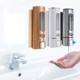 400ml Wandhalterung Flüssigseife Küche Bad Shampoo Spender Seifenspender