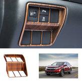 ABS Peach Wood Grain fari copertura copriforo per Honda CRV CR-V 2017 2018