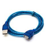 US01 USB延長ケーブル2.0男性と女性のデータケーブル1m 1.5m 2m 3m純銅テープシールドケーブル