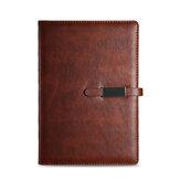 A5 PU skórzany notatnik w stylu vintage podszyty papierowy notatnik notatnik pamiętnik z klamrą