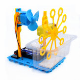 Kleine Hammer STEAM DIY Bubble Blister Robot Machine Educatieve Kit
