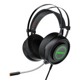 BlitzWolf® AirAux AA-GB1 Gaming Headphone USB 7.1 Surround Sound RGB LED Light Stereo Flexible Computer Gaming Headset with Mic