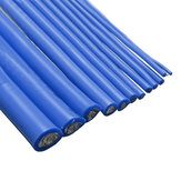 Blauw 1M 8/10/12/14/16/18/20/22/24/26 AWG Silicone Wire SR Wire