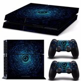 Digital Aura Vinly Skin Stickers Para PS4 Play Station 4 Consel Controllers Decals
