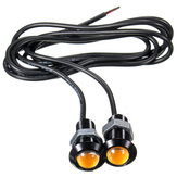 Voiture 3W 18MM LED Eagle Eye Daytime Running DRL Tail Backup Light