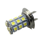 H7 5050 27SMD Car White LED Fog Light Daytime Running Light Bulb