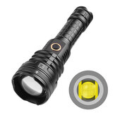 XANES® 1490B XHP90 2000LM USB Rechargeable Telescopic Zoom 5 Modes Waterproof 26650 18650 LED Flashlight Night Light
