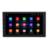 7200C 7 بوصة 2 Din for أندرويد 8.1 Car MP5 Player 4 النواة 1 + 16GB Radio Stereo GPS WIFI الدعم Carema