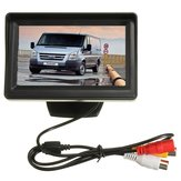 Car Monitor Rear View Reversing Camera Kit CCD 4.3 Inch  for Transit Connect