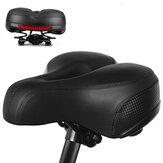 Assento de bicicleta confortável e reflexivo à prova de choque e respirável para BTT Assento com almofada para bicicleta ao ar livre
