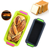29.2x12.8x6.2cm siliconen cakevorm diy non-stick brood toast schimmel brood gebak bakvorm bakvormen