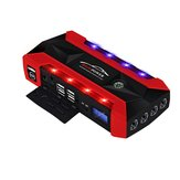 89800mAh Multifunctional Jump Starter USB Emergency Start Power with Safety Hammer