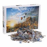 1000 Stück Puzzle Spielzeug DIY Montage Papier Puzzle Gebäude Landschaft Lernspielzeug