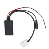 Adaptateur de câble audio pour voiture Câble AUX avec Micro pour Peugeot