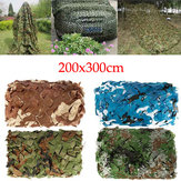 2x3m Woodlands Leaves Hide Jungle Camouflage Netting Camo Net für Camping Militärjagd
