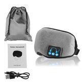 Zestaw słuchawkowy Bezprzewodowa Bluetooth 5.0 Stereo Eye Mask Maska USB do spania