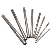 8pcs 3-10mm HSS Machine Reamer Straight Shank Milling Reamer Chucking Reamer