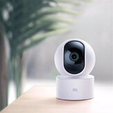 [SE-version] Xiaomi Mijia 1080P Smart IP-kamera 360 ° Horisontell roterbar APP-fjärrkontroll IR Night Vision Security Monitor