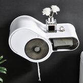 Suporte para papel higiênico autoadesivo Bakeey multifuncional Banheiro Suporte Cat Proof para montagem em parede Suporte para papel higiênico Armazenamento Suporte para telefone Caixa