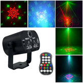 Mini 60 patrones Colorful LED Etapa Láser Efecto de iluminación USB Light Proyector para Boda Cumpleaños DJ Disco Party