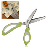 9 Inch Stainless Steel Triangle Shape Serrated Scissor Tailor Tool Pinking Shear