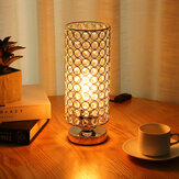 Modern Design Table Lamp Crystal Dimmer Lounge Bedside Table Light Home E27/E26