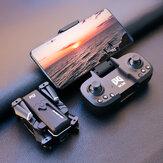 WLRC KK1 Mini WiFi FPV с двойным 4K HD камера 50x ZOOM Режим удержания высоты Складной RC Дрон Квадрокоптер RTF