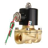 2W-200-20 AC220V 3 / 4Zoll Messingelektromagnetventil-Wasser-Luft Brennstoffe