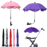 Adjustable Baby Pram Pushchair Buggy Stroller Umbrella Sunshade Parasol Brolly Sun Canopy