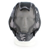 V6 Full Face Mask Mesh Breathable Protective Hunting Airsoft Tactical CS Game Men Women Masks Outdoor Cycling