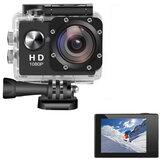 AUGIENB 2 Zoll 4K HD 1080P Bildschirm 300.000 Pixel Sportkamera Unterwasser 30m Action DVR Camcorder Wasserdichte Jagdkamera