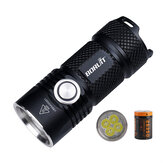 BORUiT BC15 4*XPG3 3000LM USB Rechargeable Powerful LED Flashlight Kit with 26350 Battery Super Bright for Camping Mountaineering