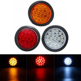 Round Tail Reflector Achter Brake Stop Marker Light Indicator voor Truck