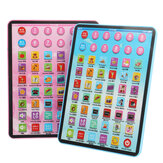 Kids Educational Tablet Pad Computer for Kid Children Learning English Educational Teaching Toy Gift
