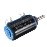 WXD3-13-2W Precision Potentiometer 2.2KΩ 2.2K Ohm Wirewound Multi-Turn Potentiometer