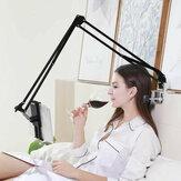 Masaüstü Yatak Ofis Mutfak 360 Derece Rotasyon Esnek Tembel Uzun Kol Akıllı Telefon Tablet için Telefon Tutucu Tablet Standı