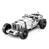 Blocos de construção Montar carros antigos retrô Modelos de carros antigos Carros de brinquedo infantis Carros puxados para trás Brinquedos
