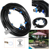 8M Outdoor Foschia Sistema di raffreddamento Water Sprinkler Garden Patio Foschiaer Kit di raffreddamento spray