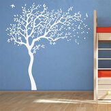 1セットウォールステッカービッグツリーウォールステッカーホームリビングルームキッズルームベビー保育園ウォールアート壁画ビニールデコレーション