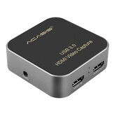 ACASIS USB3.0 1080P HD Video Capture Box voor Game Live Broadcast Video Recording Card voor YouTube OBS Tik Tok PS4 PC Mobiele telefoon