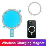 Bakeey Magsafe aimant de charge sans fil pour iPhone 12 étui de téléphone portable couverture arrière magnétique forte pour Magsafe