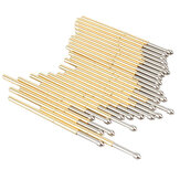 P100-E2 100Pcs Dia 1.36mm Length 33.3mm 180g Spring Test Probe Pogo Pin Tool