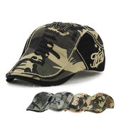 Unisex Pamuk Kamuflaj Beresi Şapka Tokalı Ayarlanabilir Kağıt Boyu Askeri Cabbie Golf Beyefendi Şapkası
